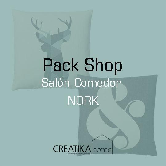 Pack Shop Salón comedor Nork