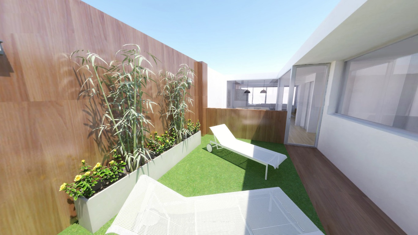 Reforma integral Casa con patio